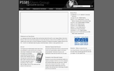 PSSBS User Group